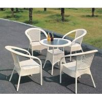供应厦门户外家具、户外桌椅、编藤桌椅
