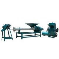 废塑料造粒机,插丝机,A级防火泡沫板保温生产线