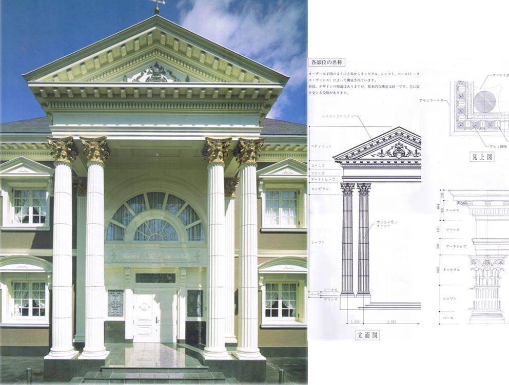 广泛应用于欧式风格楼宇的门厅图片