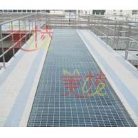 水沟盖采用钢格板(格栅板)、格子板设计和制造