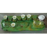 Tairi泰日水彩文化石艺术茶盘