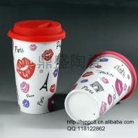 陶瓷咖啡杯,马克杯子,陶瓷杯子,卡通杯子