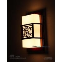 中式古典羊皮灯复古风格壁灯客厅书房走廊壁灯