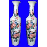 天津陶瓷大花瓶北京礼品花瓶青花瓷花瓶批发
