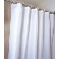 白色涤纶浴帘
