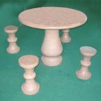 石头桌凳供应 石头桌凳加工 石头桌凳价格
