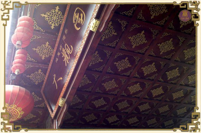 东阳仿古木雕家具/镂空雕花板/背景墙/实木花格/吊顶