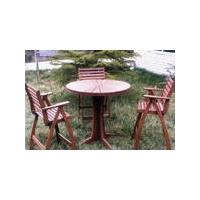 欧泰姆防腐木-桌椅与凳子