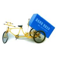 三轮垃圾车环卫垃圾转运车手推车人力小区环卫指定垃圾车