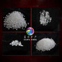 高级建材级水晶砂 全透明硅砂 透明石英砂