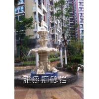 欧式雕塑摆件景观砂岩喷泉雕塑