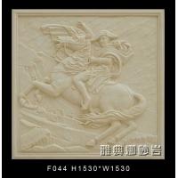 雅典娜欧式人物砂岩浮雕