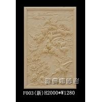 松鹤延年砂岩浮雕艺术砂岩背景墙