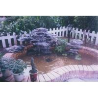 广州保利花园、光大花园的金鱼池防水施工工程