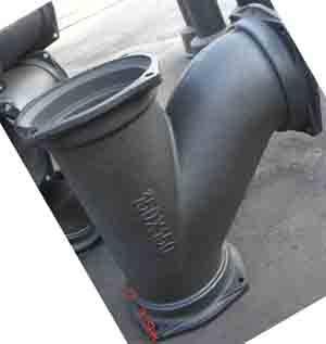 柔性抗震铸铁排水管件三通产品图片,柔性抗震铸铁排水管件三通产品