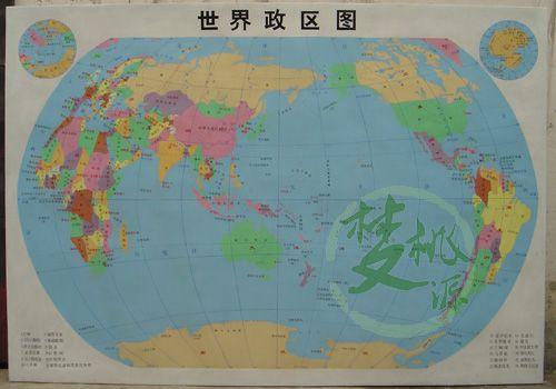 世界政区图手绘简图