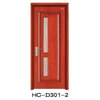 HC-D301-2-恒成纯实木门|恒成门业|陕西实木门