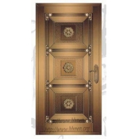 上海铜门/上海别墅铜门/玻璃铜门图片/酒店铜栏杆