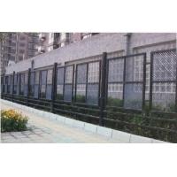 甘肃铁艺制作 兰州铁艺栅栏 铸铁围墙安装 恒达
