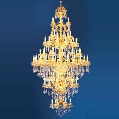 水晶蠟燭燈