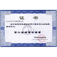 中國照明電器協會理事單位