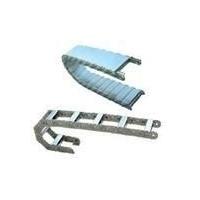 海南供应渗碳钢制拖链|五轴联动机床排屑机防护罩