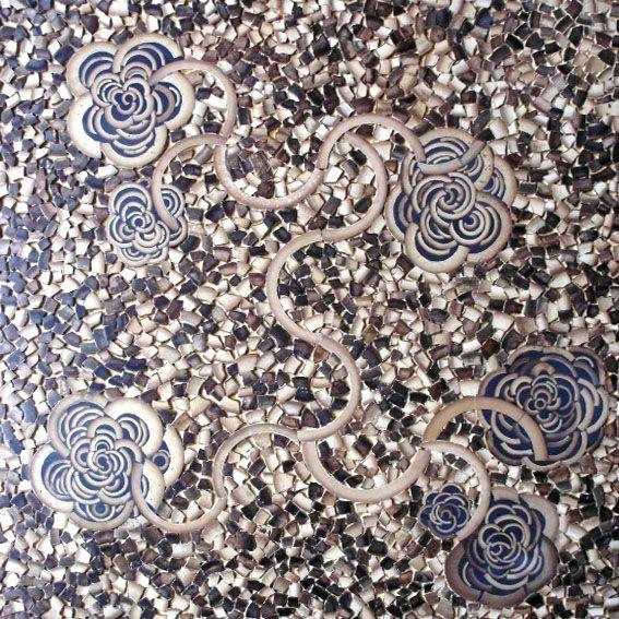 天然环保金竹子艺术马赛克产品图片,天然环保金竹子