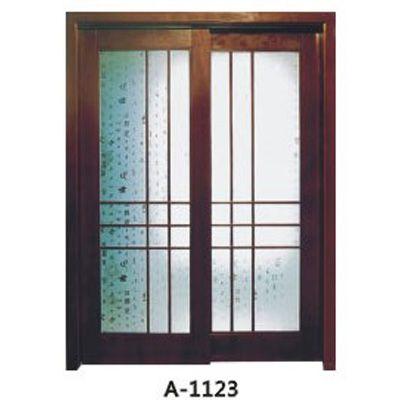 成都实木贴板门A-1122-A-1124