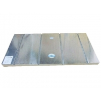 电地暖免地楞铝板模块