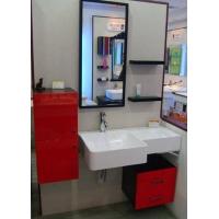 实木烤漆浴室柜