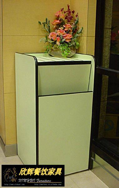 肯德基垃圾桶,防火板垃圾桶ljt-04
