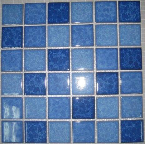 库存游泳池马赛克六角形鹅卵石异形自由石镀金电镀窑变结晶釉冰裂纹青