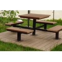 塑木户外桌椅|卉峰园林景观建材