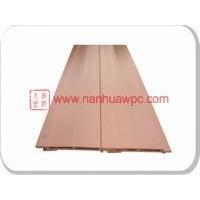 供应145*20PE木塑墙板、防腐户外装饰板