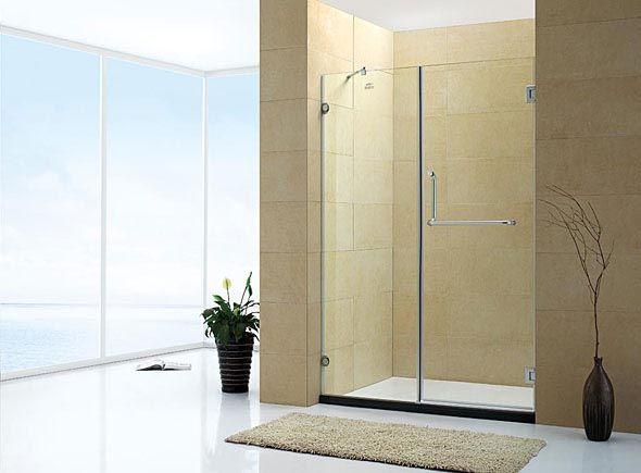 非标定做浴室玻璃隔断门-订做卫生间玻璃推拉门