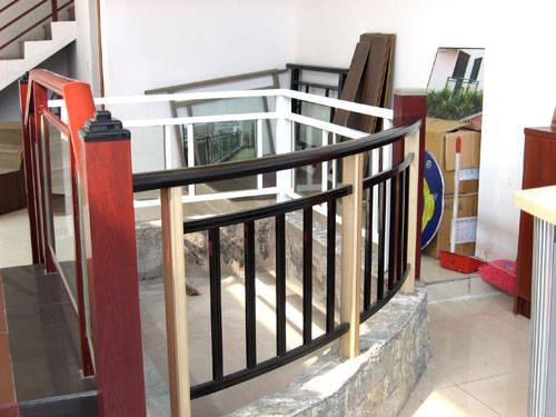 帕达龙铝合金栏杆阳台护栏楼梯扶手