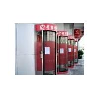 ATM圆弧自动门防护舱,ATM安全舱