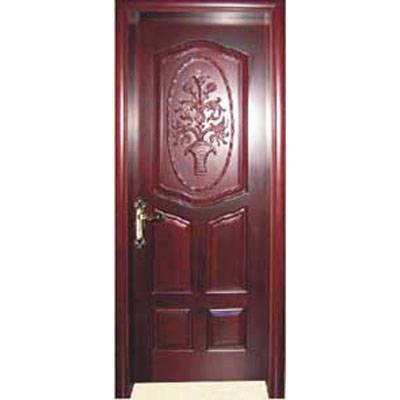 成都实木门-木中堂实木套装门(欧式雕花系列)