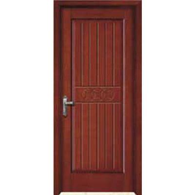 成都实木门-木中堂实木套装门(欧式红棕系列)