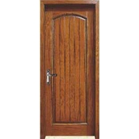 成都实木门-木中堂实木套装门(棕色系列)