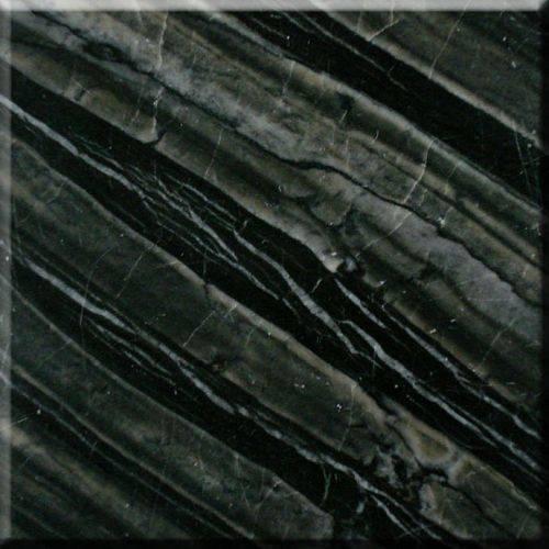 黑石材贴图-黑木纹大理石 银信石业