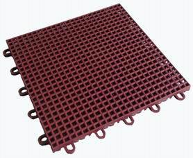 悬浮式拼装体育运动地板