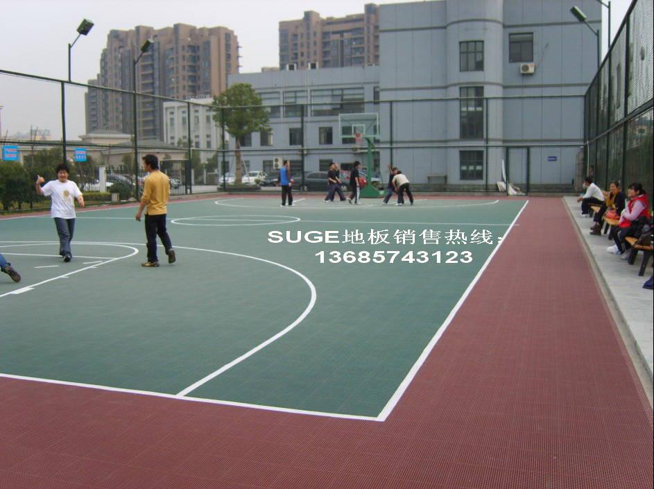 室外地板,网球 篮球 排球 羽毛球 五人制足球场地用拼装运.