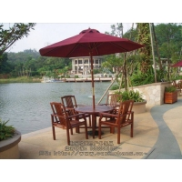 重庆欧意户外家具供应户外木制桌椅,室外家具,室外休闲桌椅