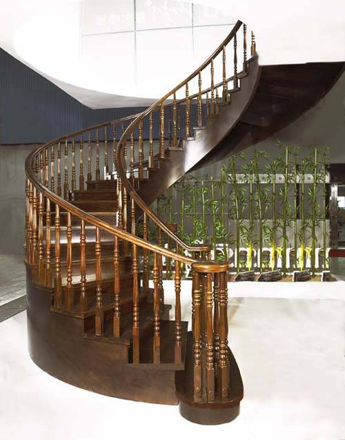柚木楼梯,黑檀楼梯,橡木楼梯,菠罗格楼梯,实木楼梯,实木栏杆,檀木栏杆