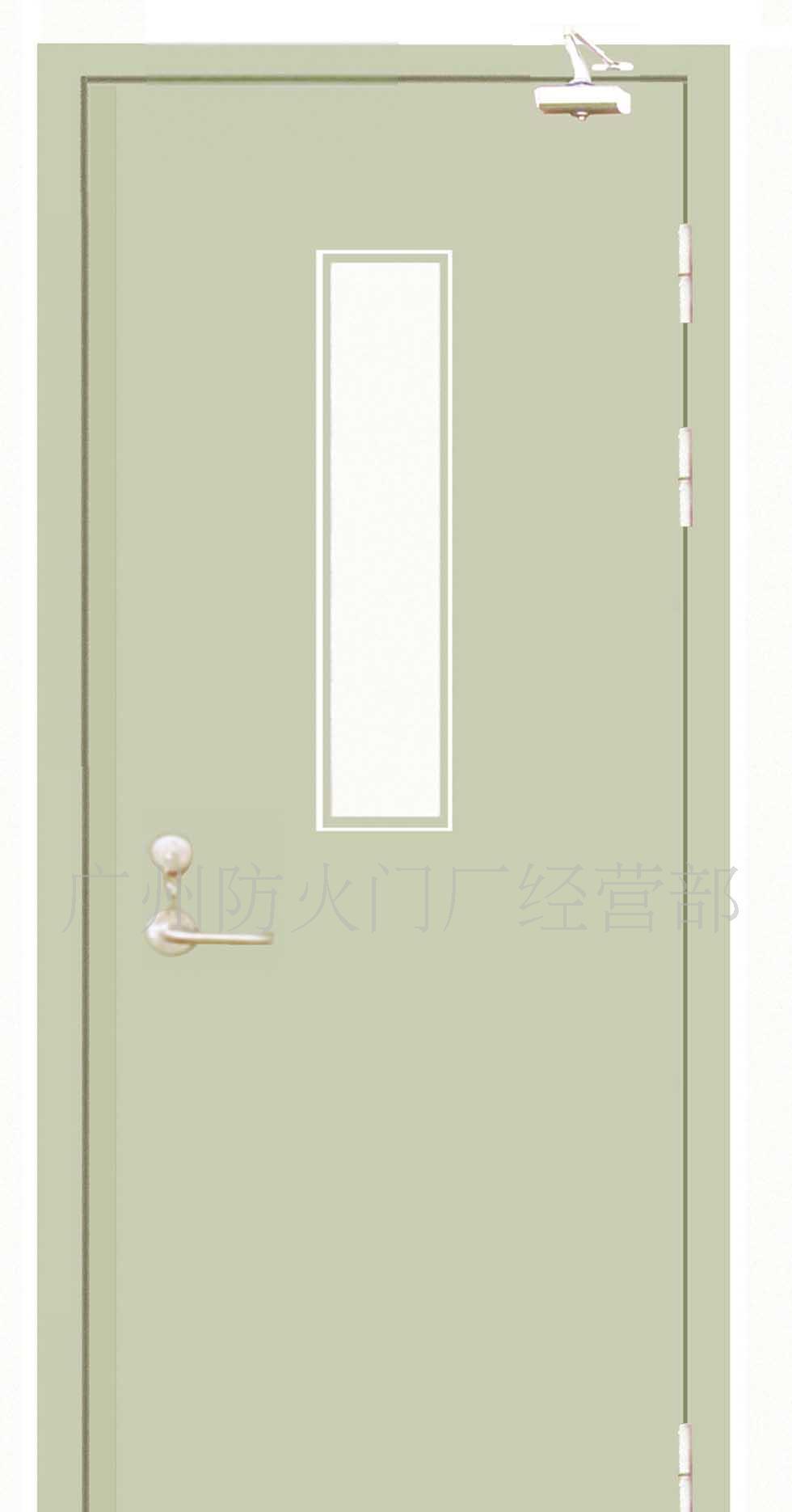 广州盛煌建材防火门甲级钢质防火门(带视口)