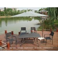 厂家直销铝木桌椅/休闲桌椅/花园桌椅/户外家具/桌椅