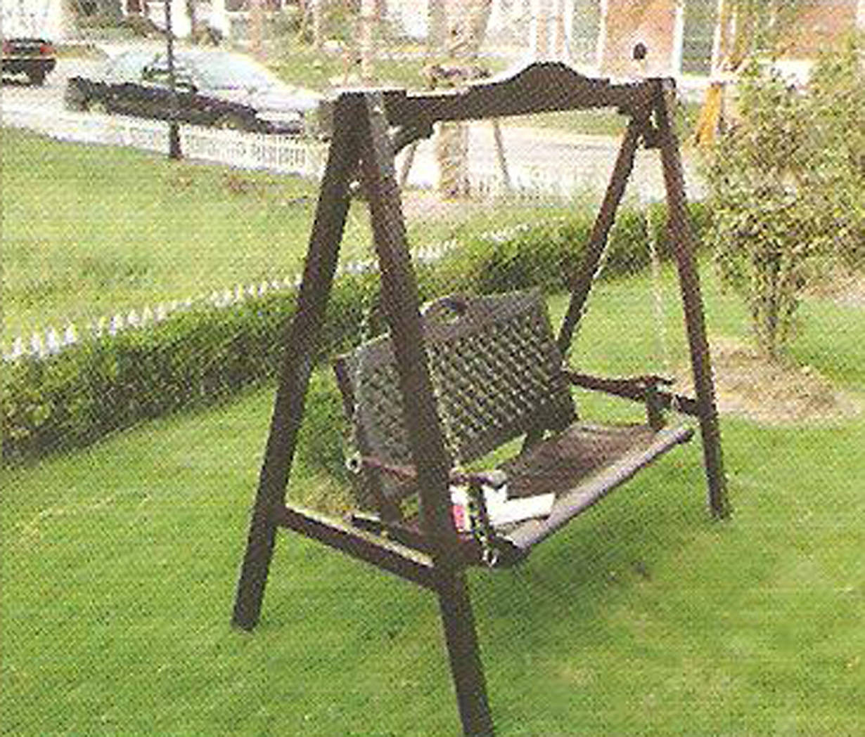 秋千椅子简笔画