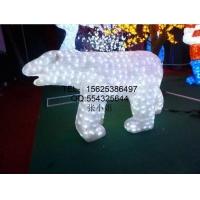 3D圣诞造型北极熊_亚克力滴胶造型_圣诞小鹿造型灯