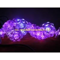 LED玫瑰花 花朵灯串 牡丹花朵灯串 花朵灯串 LED水晶花